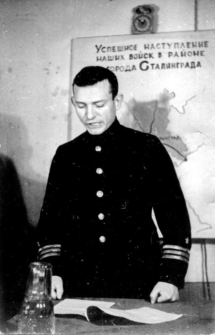 Captain 3rd Rank Israel Fisanovich