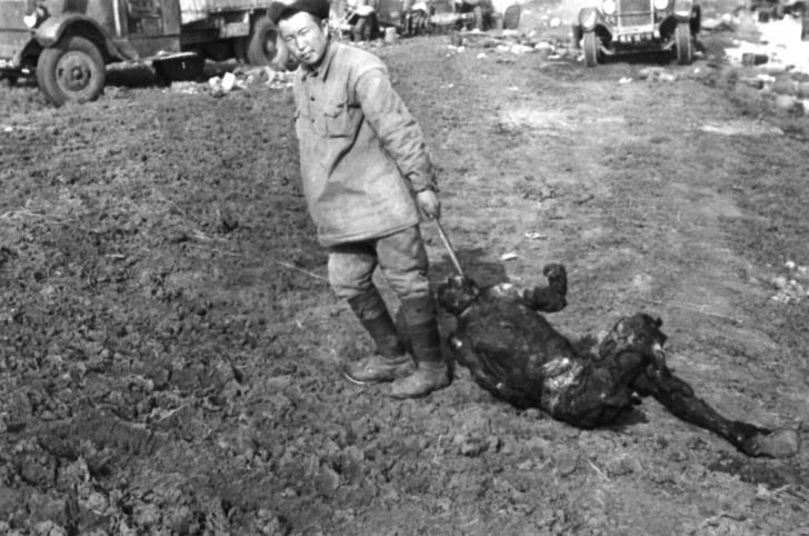 A captured Red Army man