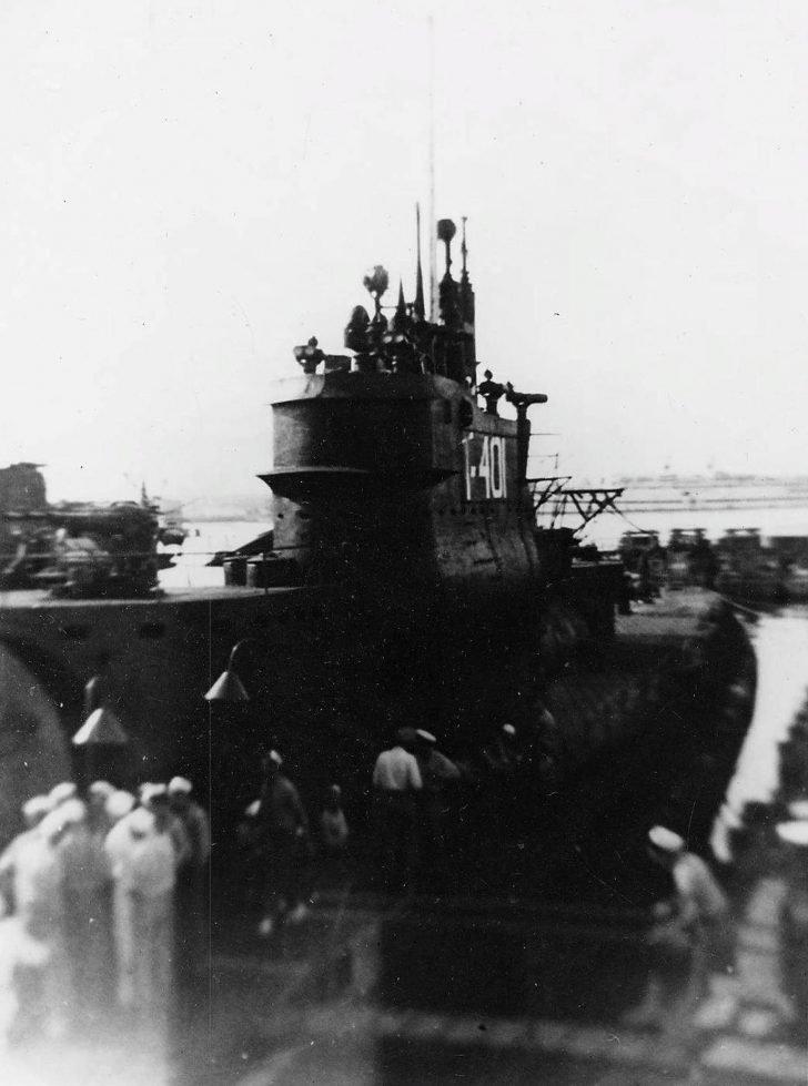 I-401 aircraft carrier submarine