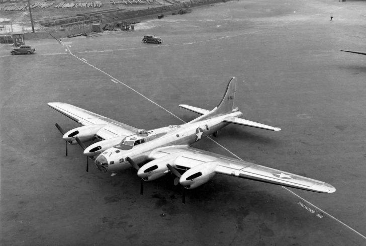 XB-38 bomber