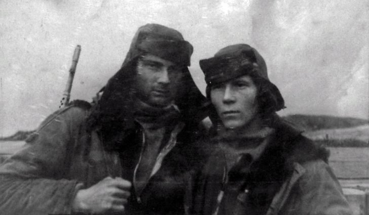 N. Maltsev and M. Babikov - intelligence officers