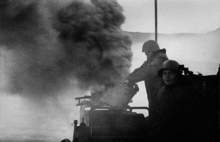 Sailors of the torpedo boat