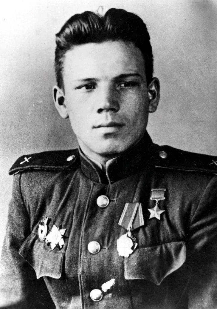 Hero of the Soviet Union Leonid Golev