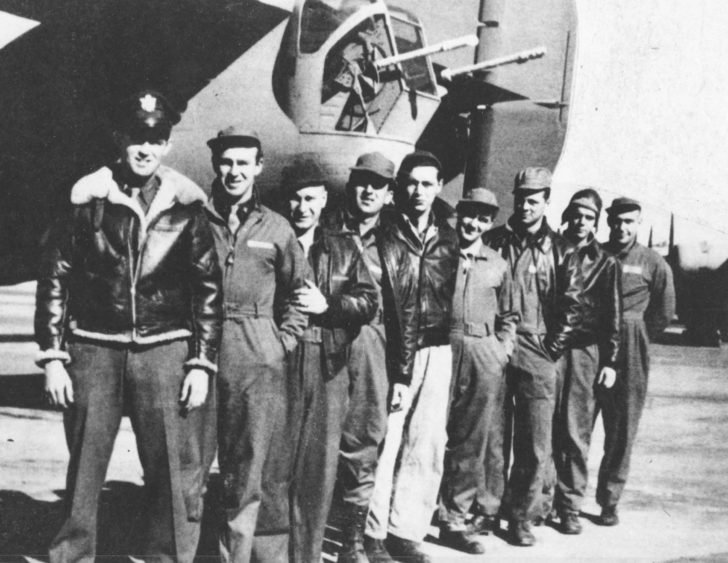Crew of B-24 Lady Be Good
