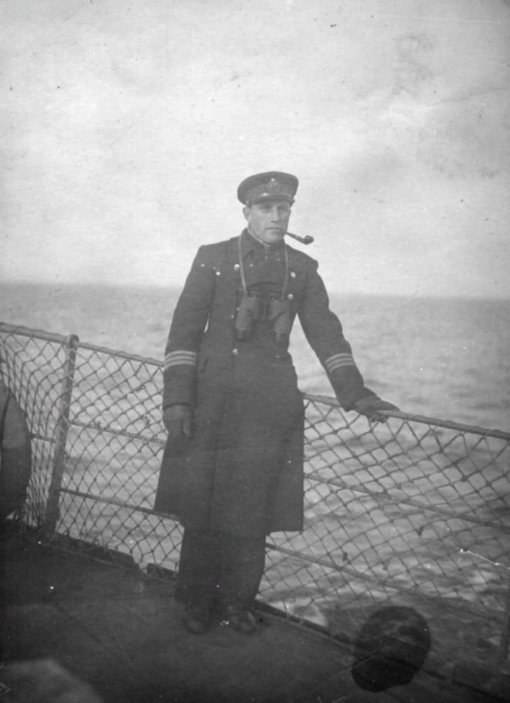 Captain 3rd Rank Pavel Buslakov