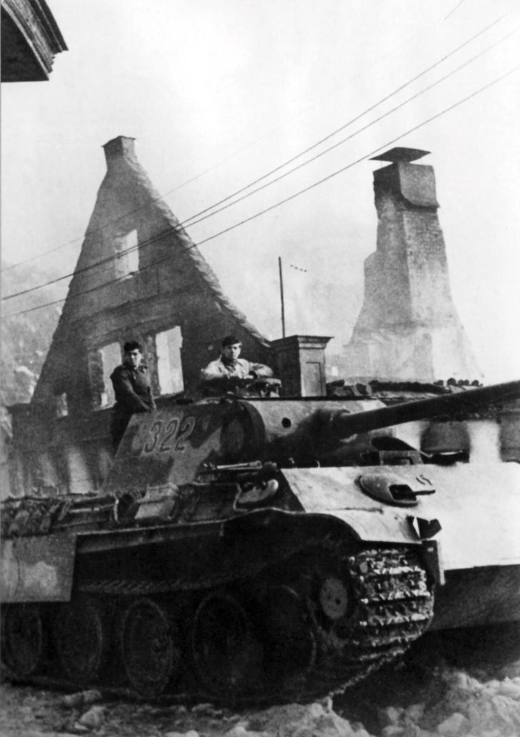 Panther of 5 Panzer Divisions