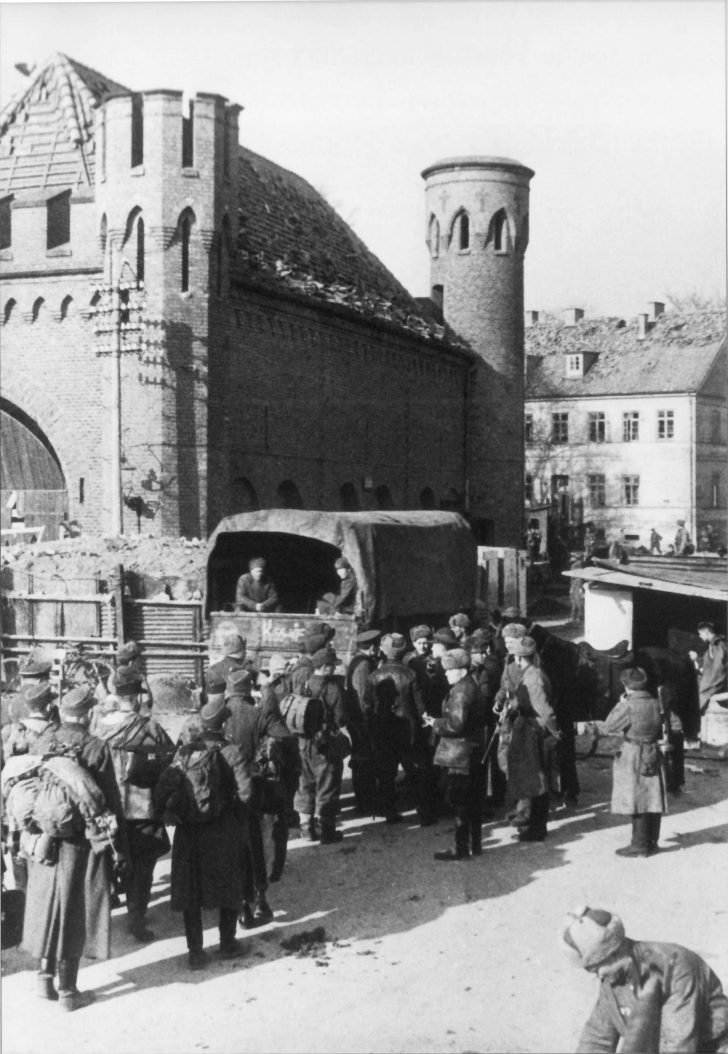 German prisoners of war