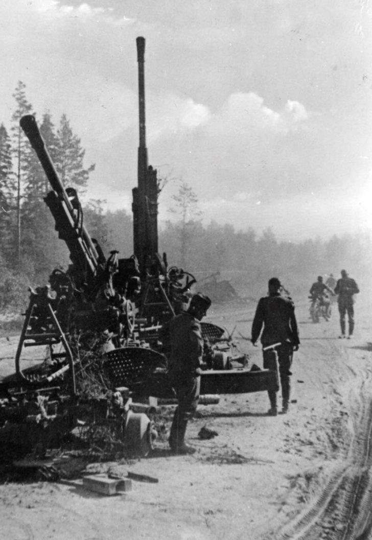 52-K anti-aircraft guns