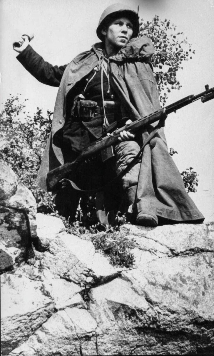 senior sergeant Vasily Kislyakov