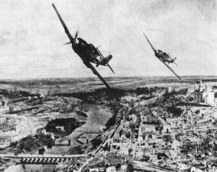 Messerschmitt BF.109E fighters