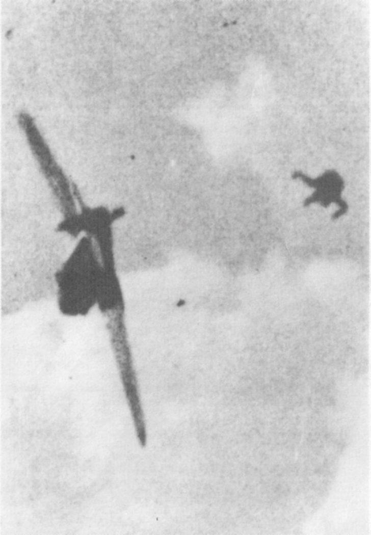 German pilot, Messerschmitt Bf.109G6
