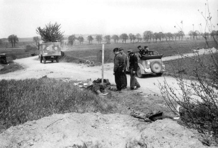 1st Fallschirm-Panzer Division Hermann Göring officers