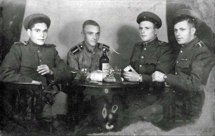 Sergeant Major of the Red Army Nikolai Kulik