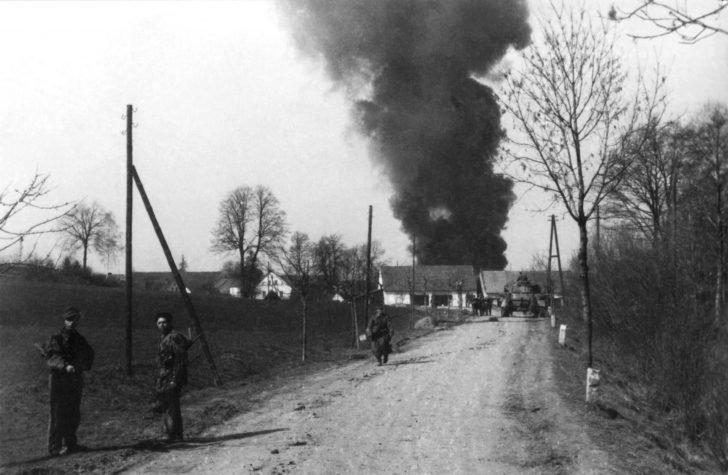 1st Fallschirm-Panzer Division Hermann Göring grenadiers