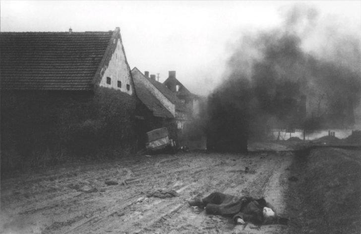 Killed German soldier