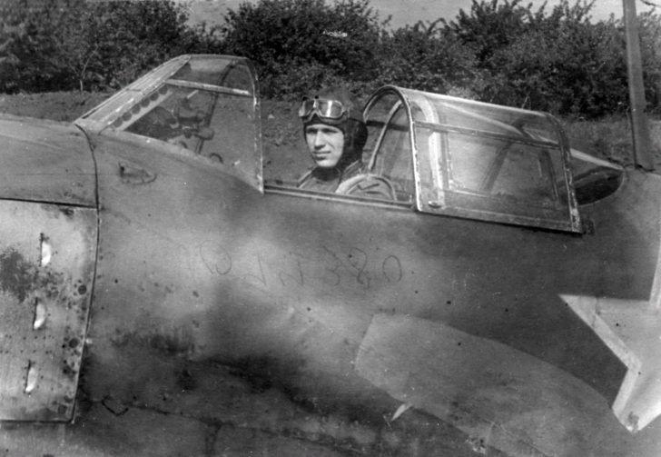 Captain N. Skomorokhov, La-5FN fighter