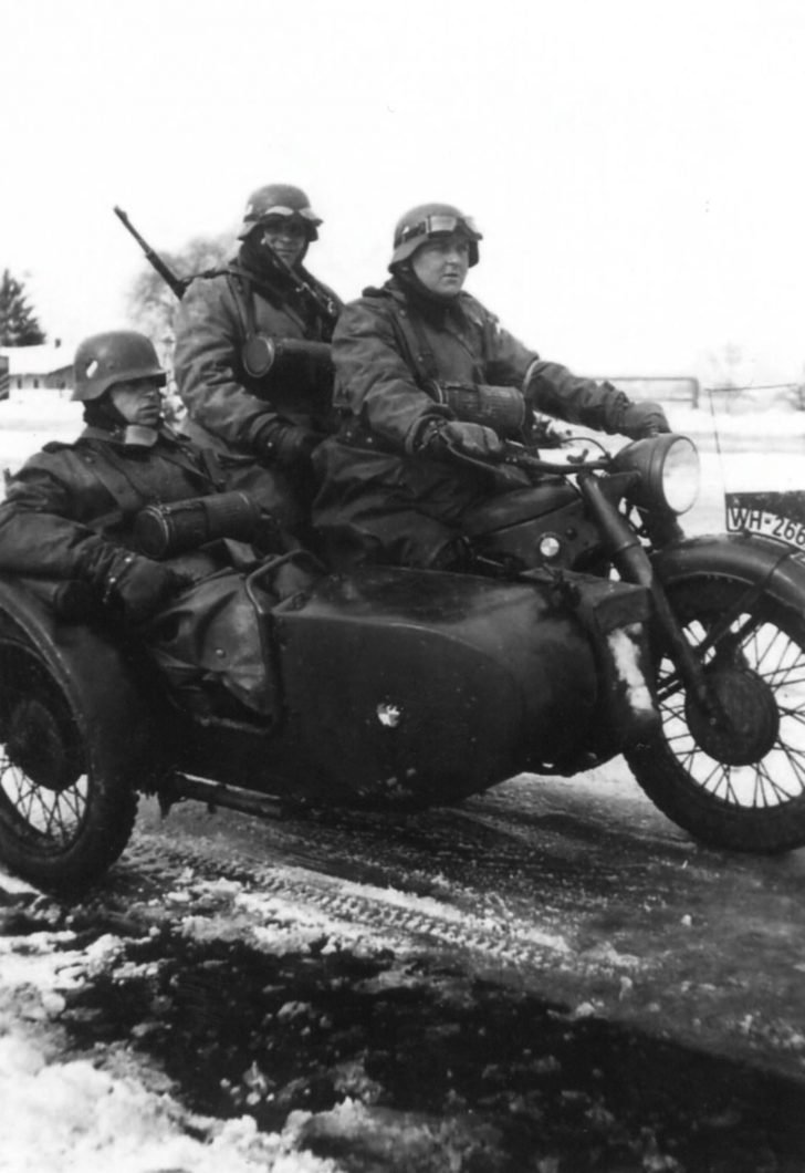 BMW R-12 motorcycle
