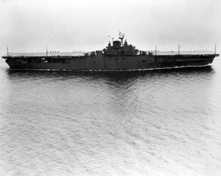 Yorktown aircraft carrier