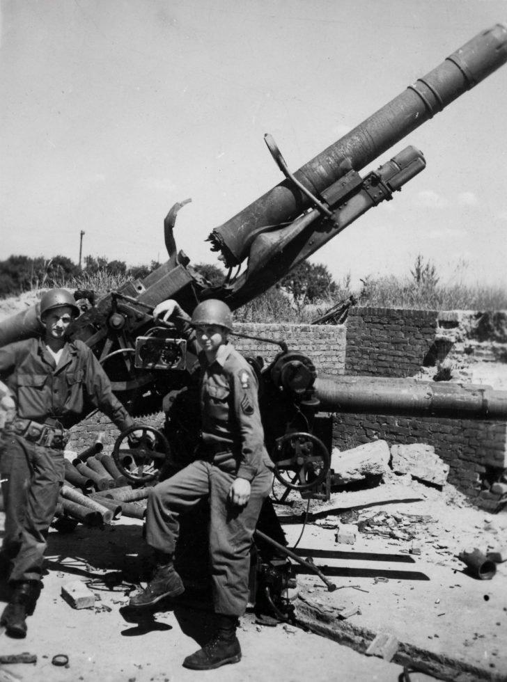 American soldiers, Flak 18