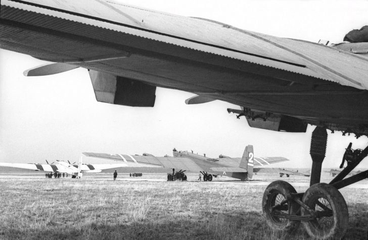 TB-3 heavy bombers