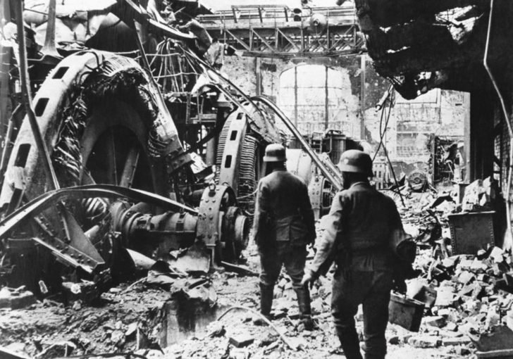 The Nazis in Stalingrad