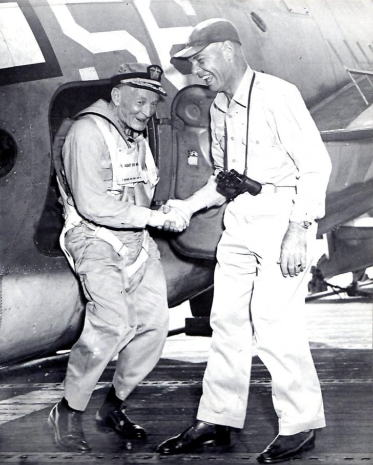 Vice-Admiral John McCain