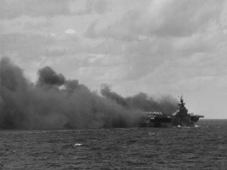 Ticonderoga aircraft carrier