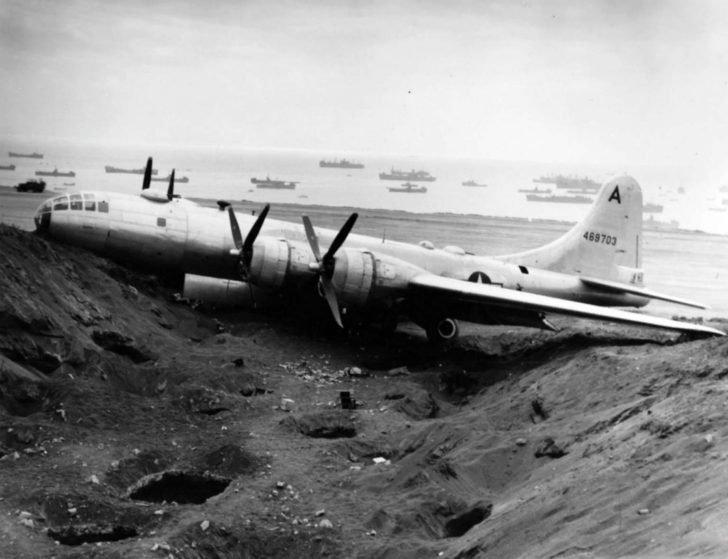B-29-55-BW bomber