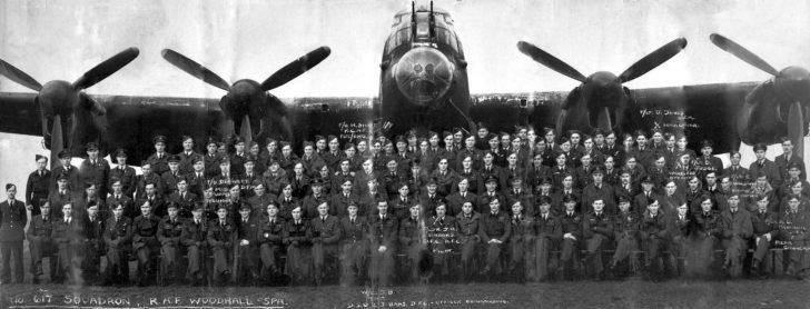 617th Squadron of the British Royal Air Force