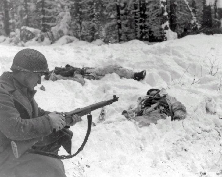 American soldier Frank Vukasin