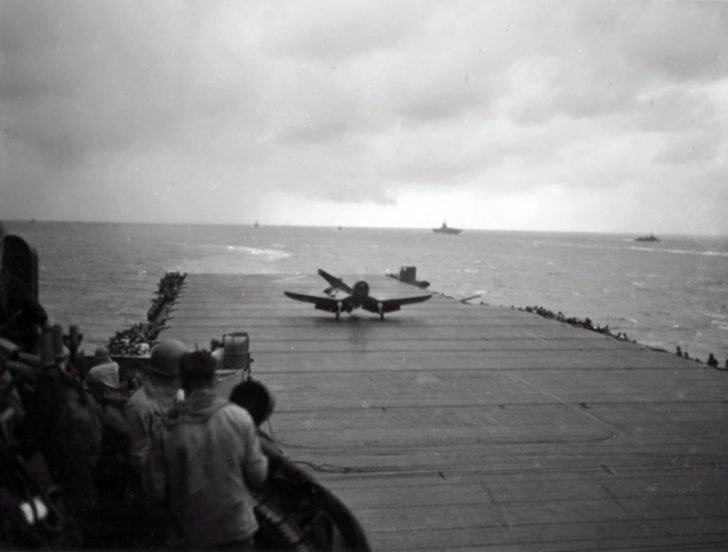 F4U Corsair fighter
