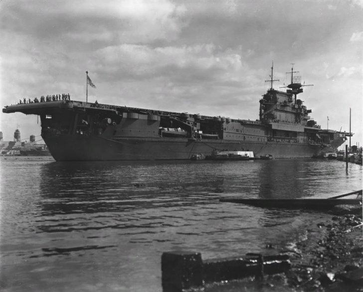 Enterprise aircraft carrier