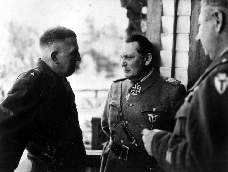 Major General John Dalquist, Hermann Goering