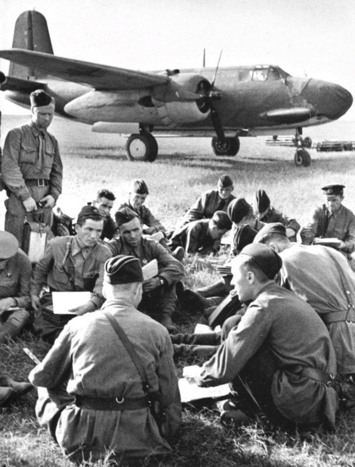 A-20 Boston bombers