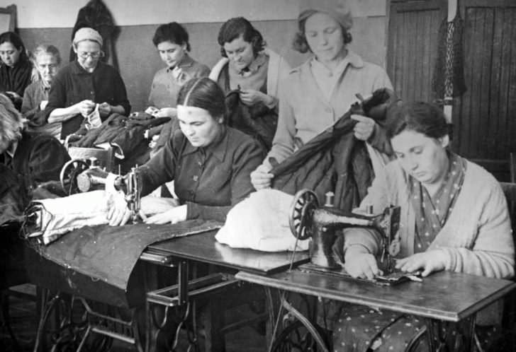 Sewing uniforms