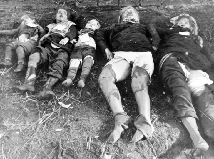 corpses of German civilians