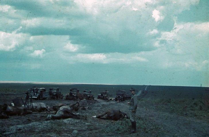Soviet convoy