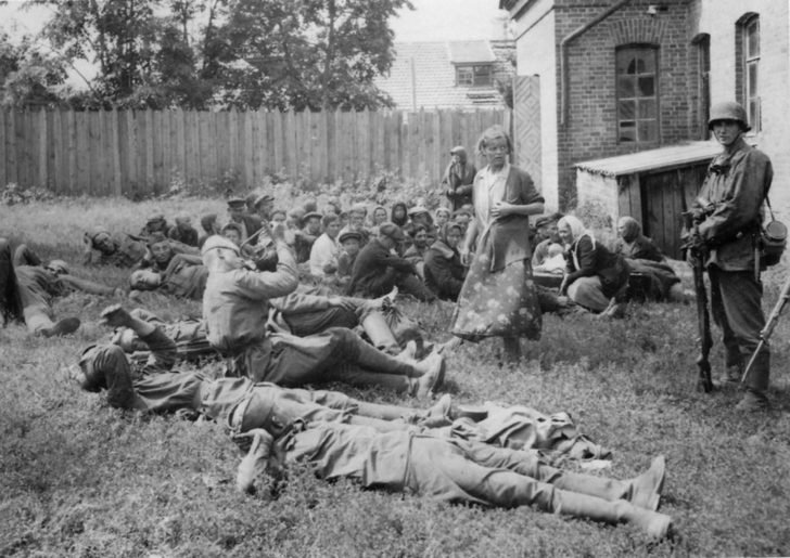 prisoners of war of the Red Army