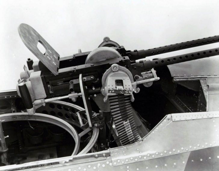 Machine gun turret of Douglas SBD Dauntless