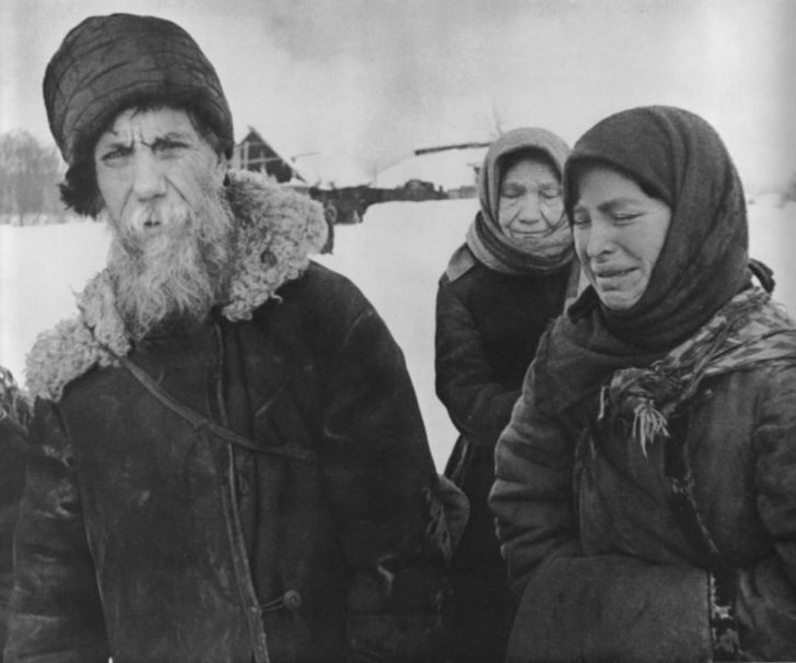 Soviet refugees