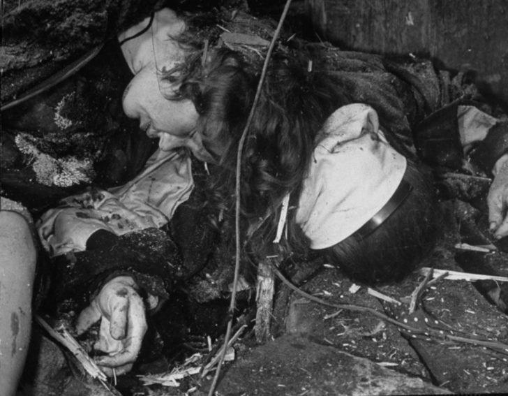 Soviet women killed