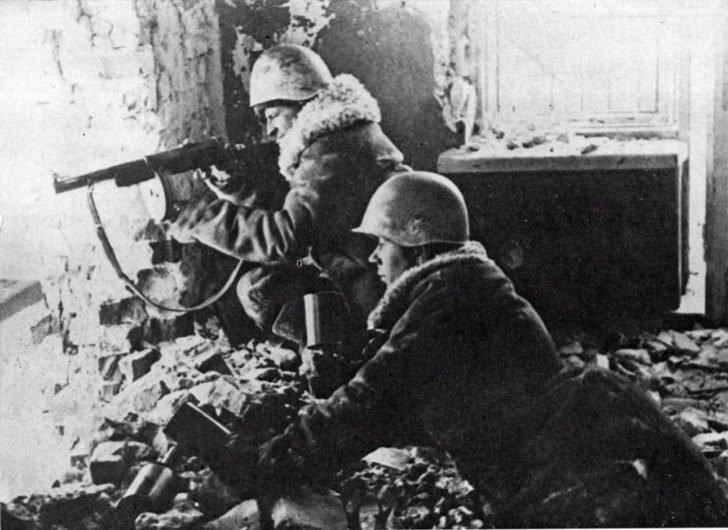 Soviet soldiers