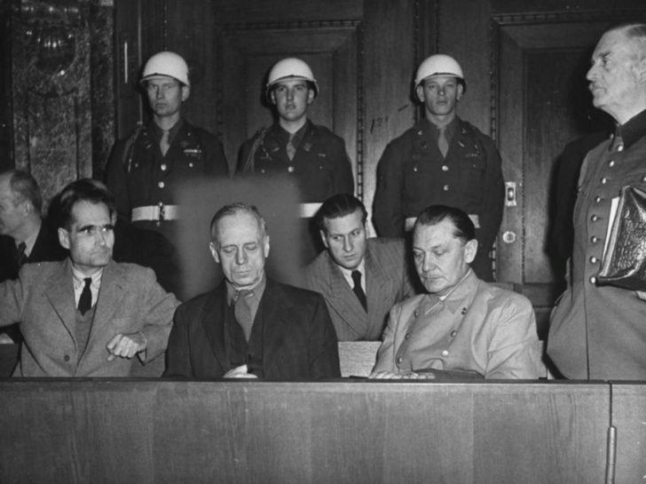 Rudolf Hess, Joachim von Ribbentrop, Hermann Goering, Wilhelm Keitel
