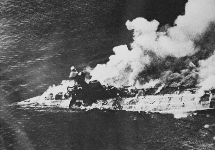 Hermes aircraft carrier