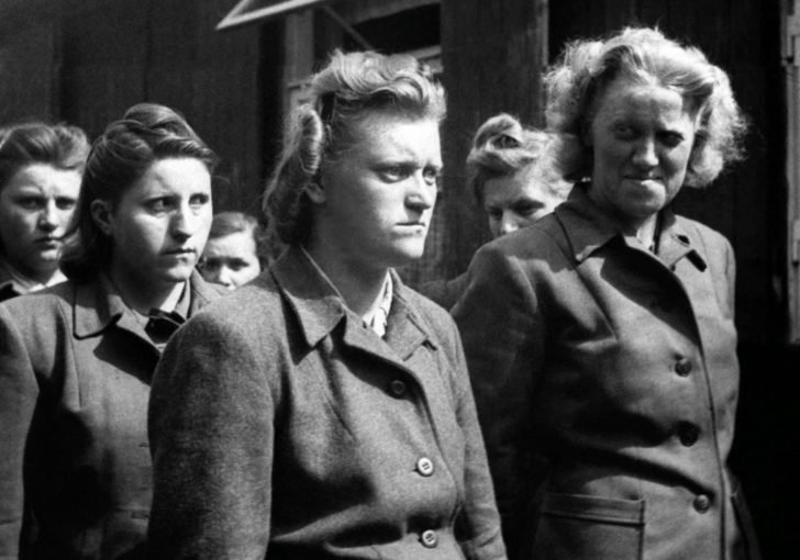 SS-guard of the Bergen-Belsen concentration camp