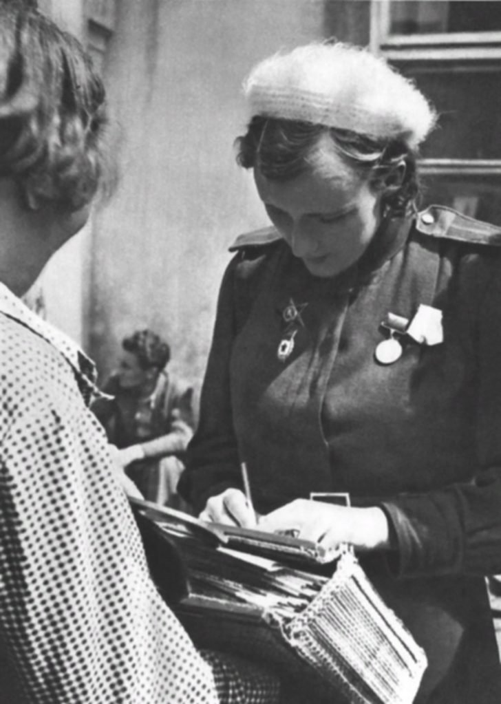 Soviet girl soldier