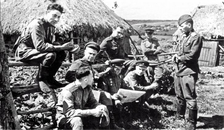 War correspondents, cameramen