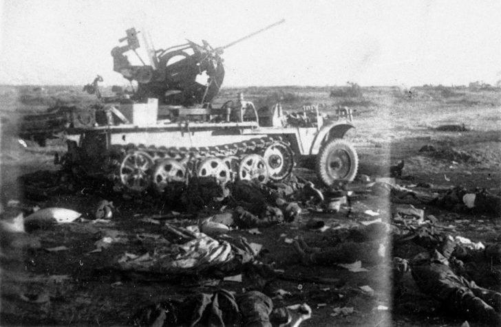 Sd.kfz. 10/5 anti-aircraft gun