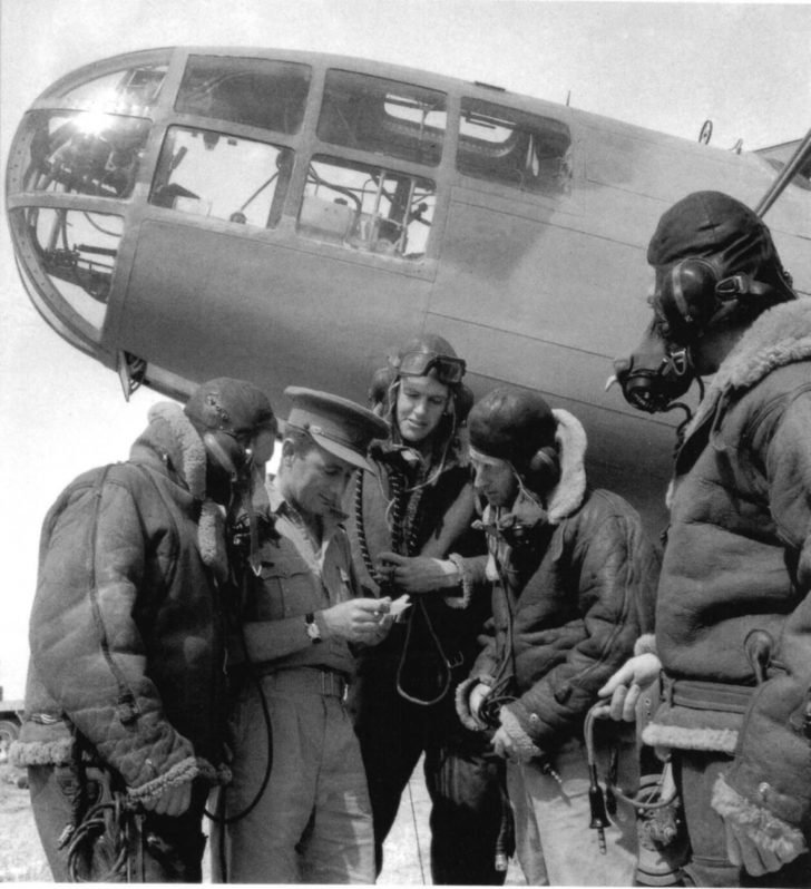 Martin Type 167 Maryland crew