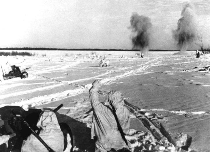 45-mm anti-tank guns